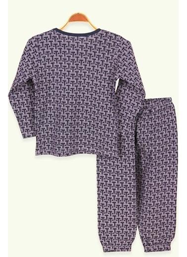 Breeze Pijama Takım Lacivert